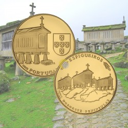 Portugal 2018 2,5€ Espigueiros - Ouro PROOF