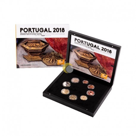 Portugal 2018 Set Anual - PROOF