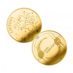 Lithuania 2018 5 euro Gold PROOF - Sciences