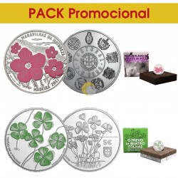 Portugal 2017/2018 Pack 5€ + 7,5 €