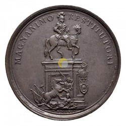 Portugal 1775 Medal Lisbon Reconstruction