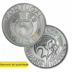 Portugal 2019 5€ Carnation Revolution 45 Years