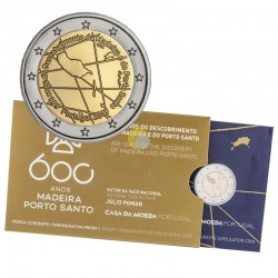 Portugal 2019 2€ 600 Years Madeira