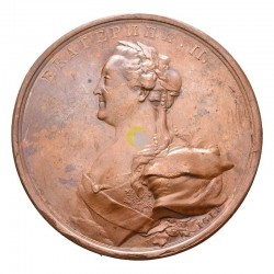 Russia 1770 Medal Catherine II
