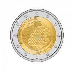 Slovenia 2018 2€ World Day of Bees