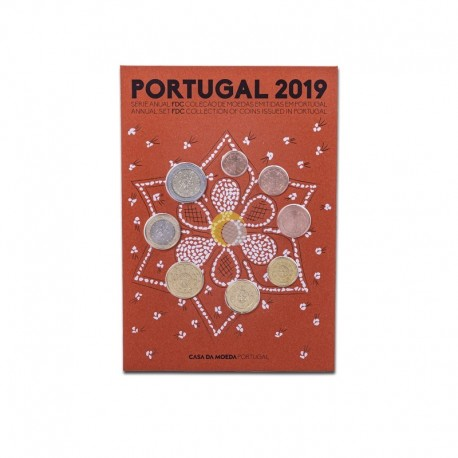 Portugal 2019 Coin Set FDC
