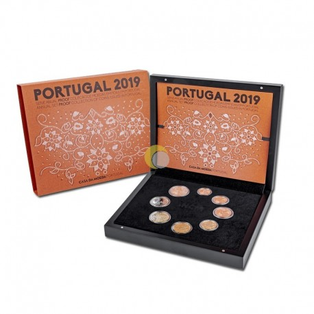 Portugal 2019 Coin Set PROOF