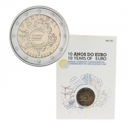 Portugal 2021 2€ 10 Anos do Euro