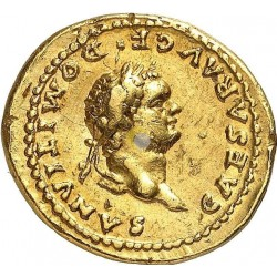 Roman Empire 81-96 Domitian Aureus