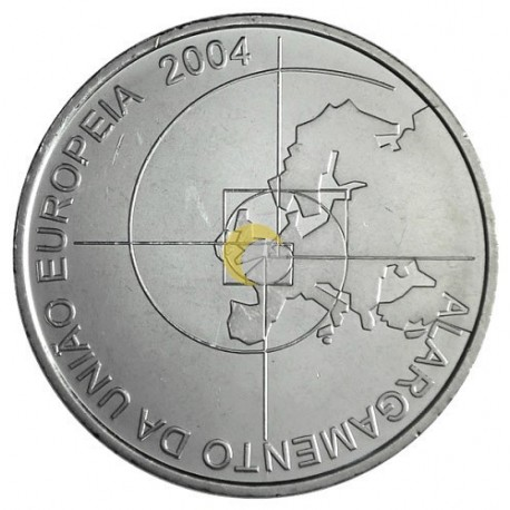 Portugal 2004 8€ Enlargement of the EU