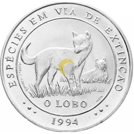 Portugal 1994 1000$ The Wolf