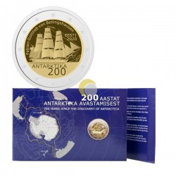 Estonia 2020 2€ First Antarctic Expedition