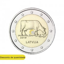 Latvia 2016 2€ The Latvian Brown