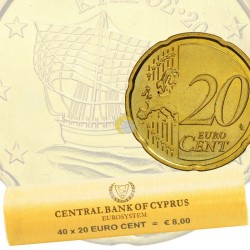 Cyprus 2018 20 cent - Roll