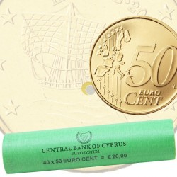 Cyprus 2018 50 cent - Roll