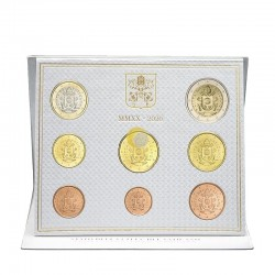 Vatican 2020 Coin Set BU
