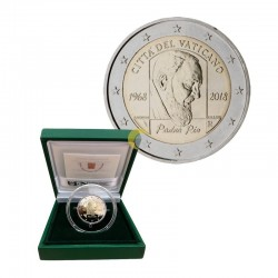 Vatican 2018 2€ Padre Pio PROOF