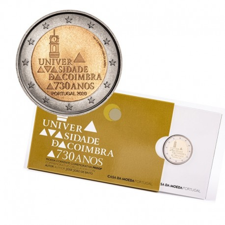 Portugal 2020 2€ Coimbra PROOF
