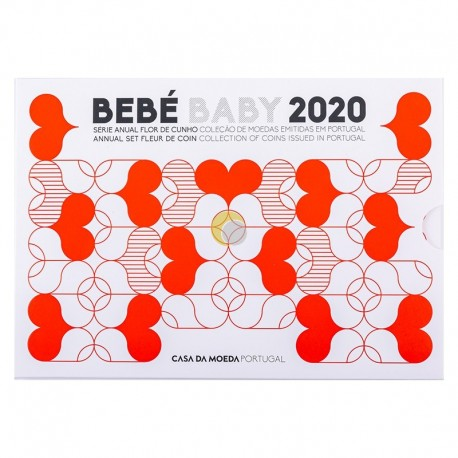 Portugal 2020 Coin set Baby