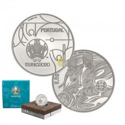 Portugal 2020 2,5€ UEFA PROOF