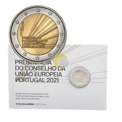 Portugal 2021 2€ Presidency PROOF