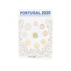 Portugal 2020 Coin Set FDC
