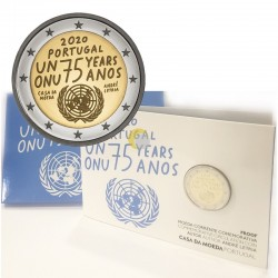 Portugal 2020 2€ ONU PROOF