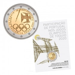 Portugal 2021 2€ Olympic Games Tokyo