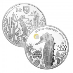 Portugal 2021 5€ The Seahorse