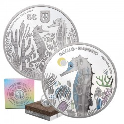 Portugal 2021 5€ The Seahorse PROOF