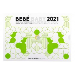 Portugal 2021 Coin set Baby