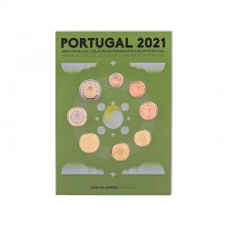 Portugal 2021 Coin Set FDC