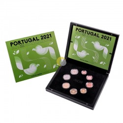 Portugal 2021 Coin Set PROOF