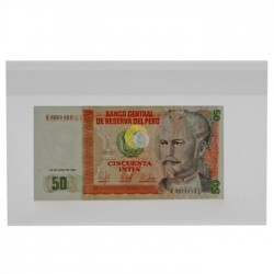 Banknotes Sleeves (205 x 125 mm)