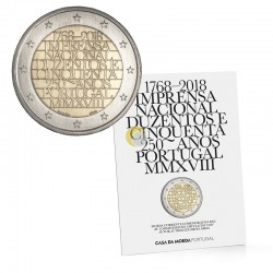 Portugal 2018 2€ Official Printing Works BU