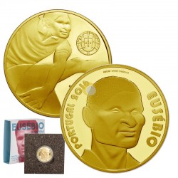 Portugal 2015 7,5€ Eusébio - Ouro PROOF