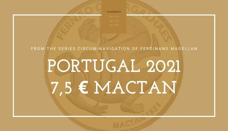 7,5 € Magalhães 2021